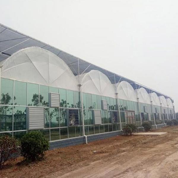 pc板温室建造商谈温室主体结构