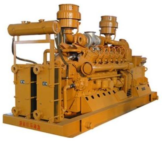 秸秆气发电机